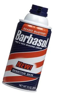 Barbasol Sensitive Skin Thick and Rich Shaving Cream, 10