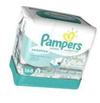 Pampers Sensitive Baby Wipes - 168 ct, Size 168 ct