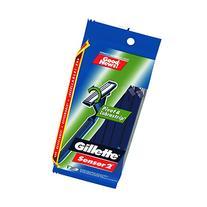 Gillette GoodNews! Sensor 2 Men's Disposable Razor, 12 Count