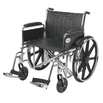 Drive Medical Sentra EC Heavy Duty Wheelchair with Various