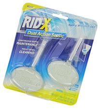 RID-X Septic Tank System Treatment and Toilet Bowl Cleaner,