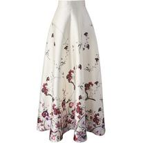 Chicwish Serenity Floral Printed Maxi Skirt