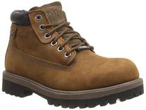 Mens Skechers Sergeants/Verdict Work Boots 10 M, Brown