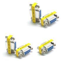 SIENOC 5 Pcs Serial RS232 9 Pin Gender Female to Female
