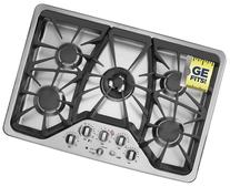 """30"""" Cafe Series Gas Sealed Burner Style Cooktop with 5"""