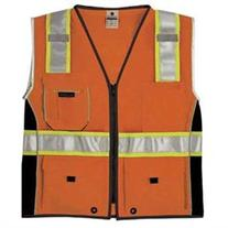 ML Kishigo - BLACK SERIES Heavy Duty Class 2 Vest - Size: X-