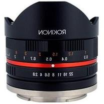 Rokinon Series II 8mm F2.8 Fisheye Lens for Canon M Mount
