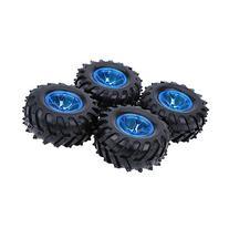 GoolRC 4Pcs/Set 1/10 Monster Truck Tire Tyres for Traxxas