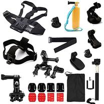 GooKit® Accessories Set Head Chest Strap Floating Grip