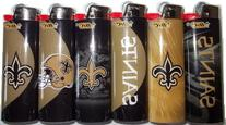 6pc Set BIC New Orleans Saints NFL Officially Licensed
