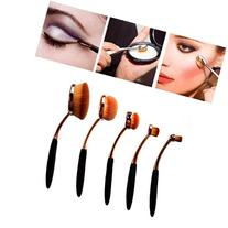 Creazy 5PC/Set Toothbrush Style Eyebrow Brush Foundation