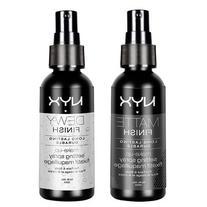 "2 NYX Makeup Setting Spray ""MSS 01+02"" Matte/Dewy Finish"