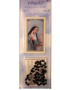 Seven Sorrows Chaplet with Prayer Card- Imported Made in