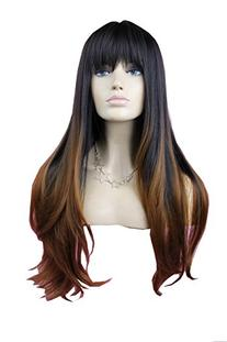 Sexy Natural Long Straight Hair Wig Synthetic Full Wig Like