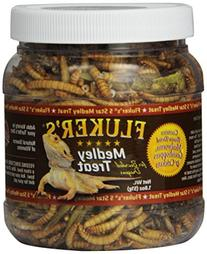Fluker Labs SFK72021 Bearded Dragon Medley Treat Food, 1.8-