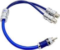 db Link SFY2F Y Adapter 2 Female/1 Male StrandFlex RCA Cable