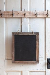 Shabby Cottage Chic Chalkboard Blackboard Memo