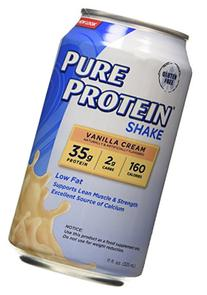 Pure Protein 35g Shake - Vanilla Cream, 11 ounce