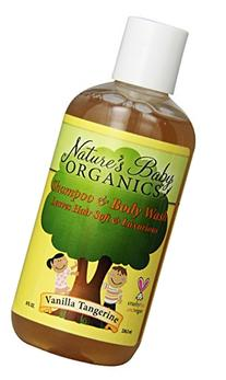 Shampoo & Body Wash - Vanilla Tangerine - 8 oz - Liquid
