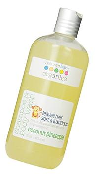 Natures Baby Organics Shampoo and Body Wash, Coconut