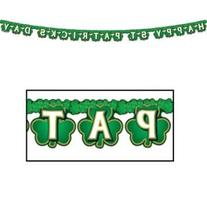 Shamrock Happy St Patrick's Day Streamer Party Accessory