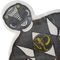Power Rangers 'Mighty Morphin' Small Shaped Napkins