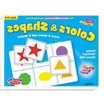 * Colors and Shapes Match Me Puzzle Game, Ages 4-7