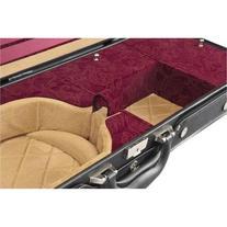 Shar Ambassador Violin Case Black Red Paisley 4/4