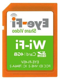 Eye-Fi 4GB Share Video SDHC Wireless Flash Memory Card EYE-