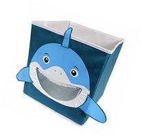 Kid's Shark Collapsible Toy Storage Organizer