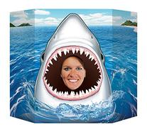 Beistle Shark Photo Property, 3-Feet 10-Inch by 25-Inch,