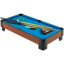 Hathaway Sharp Shooter Pool Table, Blue, 40-Inch