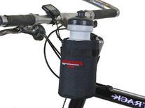 Bushwhacker Shasta Black - Insulated Bike Water Bottle
