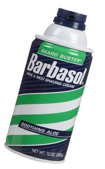 Barbasol Soothing Aloe Thick & Rich Shaving Cream 10 Oz