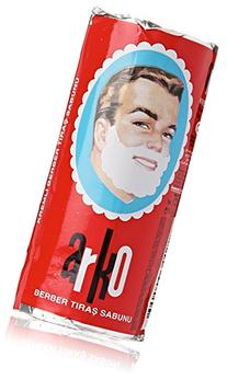 Arko Shaving Soap Stick, White, 12 Count, 900g net