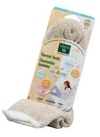 Earth Therapeutics Shea Butter Thermal Socks: Beige/Cream