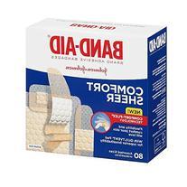Johnson and Johnson Band-aid Comfort-flex Sheer Assorted 80s