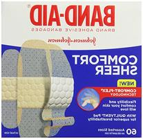 Band-Aid Brand Sheer Strips Adhesive Bandages, Assorted