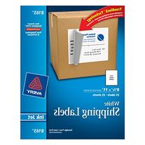 Avery White Full-Sheet Labels for Inkjet Printers, Pack of