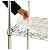 Alera Shelf Liners For Wire Shelving, Clear Plastic, 36W X