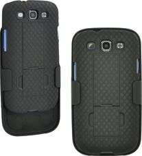 Aduro Shell Holster Combo Case with Kick-Stand for AT&T,