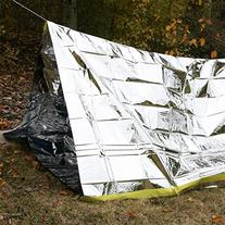 Emergency Shelter Tent, Reflective Tube Tent, Cold Weather