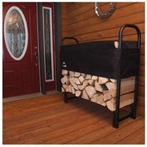ShelterLogic Covered Firewood Rack - 4 ft. - 46.6 Height x
