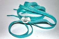 "Shimmery 43"" Multiple Solid Colors Flat Shoelaces for Teams"