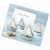 Shining Sails Silver Place Card Holder
