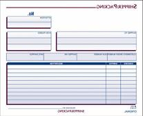 Adams Shipper and Packing Slip Unit Set, 8.5 x 7.44 Inch, 3-