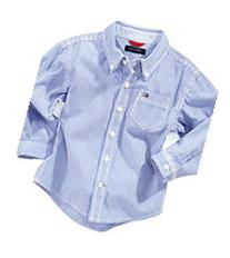 Tommy Hilfiger Baby Shirt, Baby Boys Long Sleeve Stripe