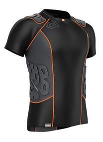 Shock Doctor Men's Shockskin 5-Pad Short Sleeve Impact Shirt