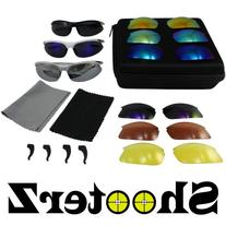 Birdz Eyewear Shooterz Glasses Kit with 3 Frames and 9
