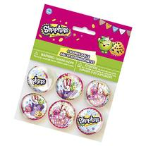 Shopkins Bouncy Ball Party Favors, 6ct